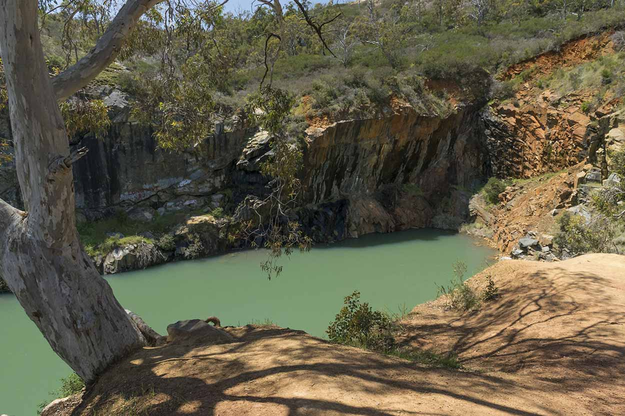 Old Barrington Quarry, Ellis Brook Valley Reserve, Perth, Western Australia