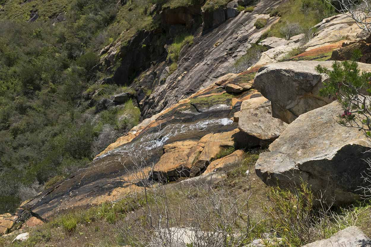 The top of Sixty Foot Falls, Ellis Brook Valley Reserve, Perth, Western Australia