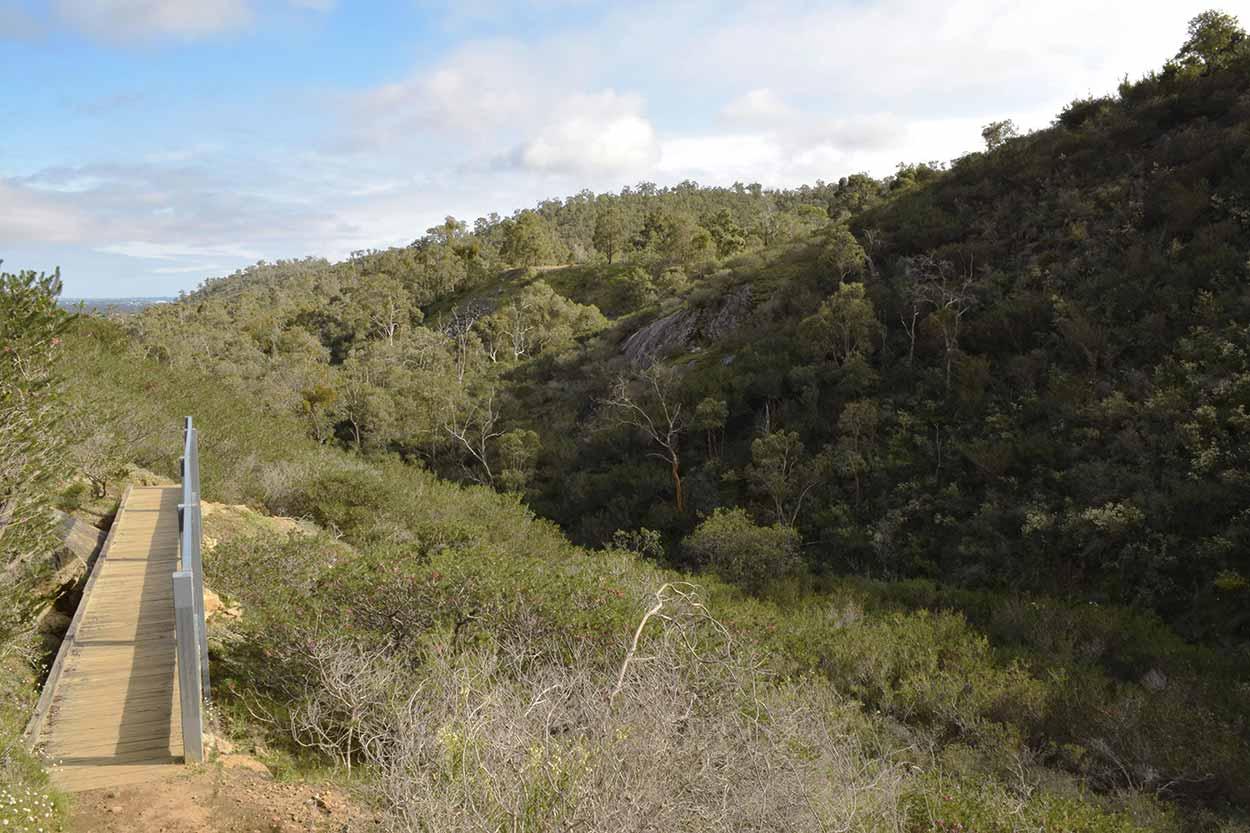 Sixty Foot Falls Trail, Ellis Brook Valley Reserve, Perth, Western Australia