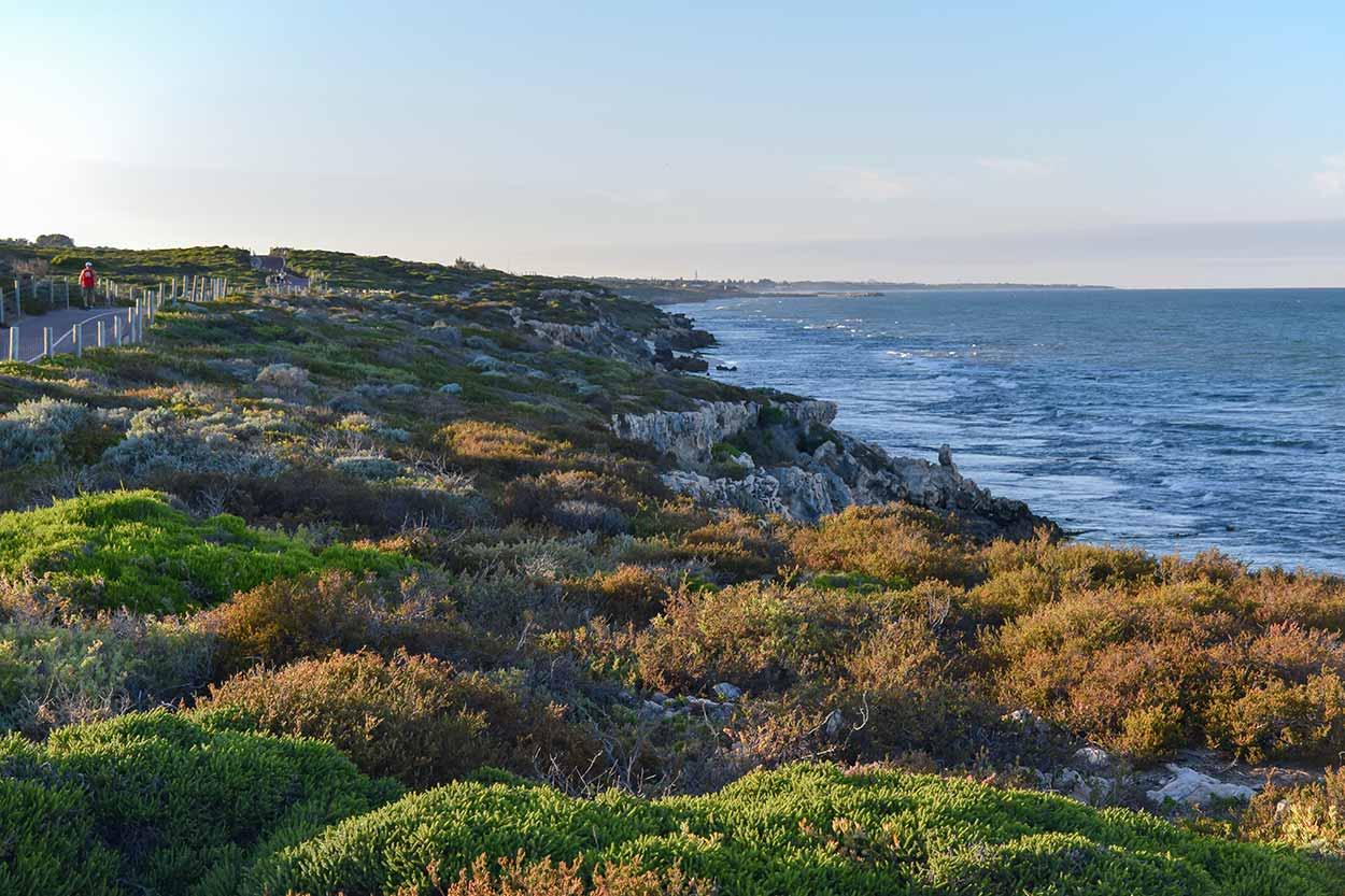 Stunning coastline vista, Iluka Coastal Path, Perth, Western Australia