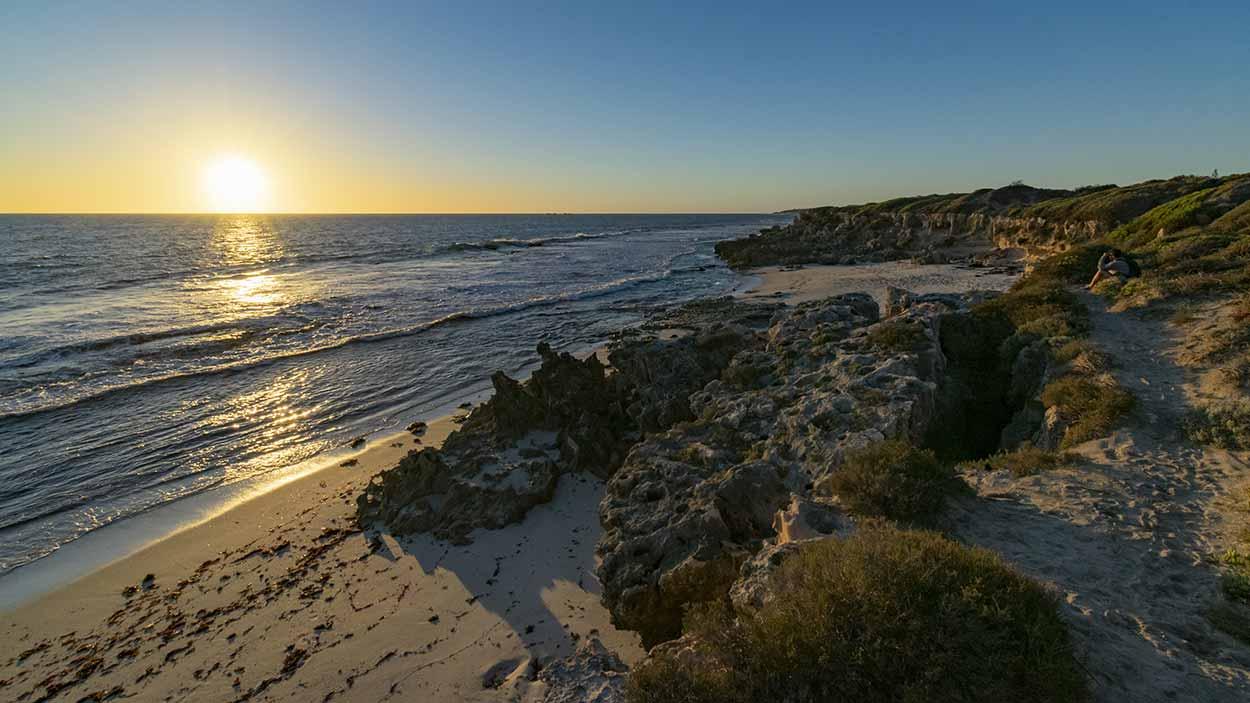 Iluka sunset, Iluka Foreshore Park, Perth, Western Australia