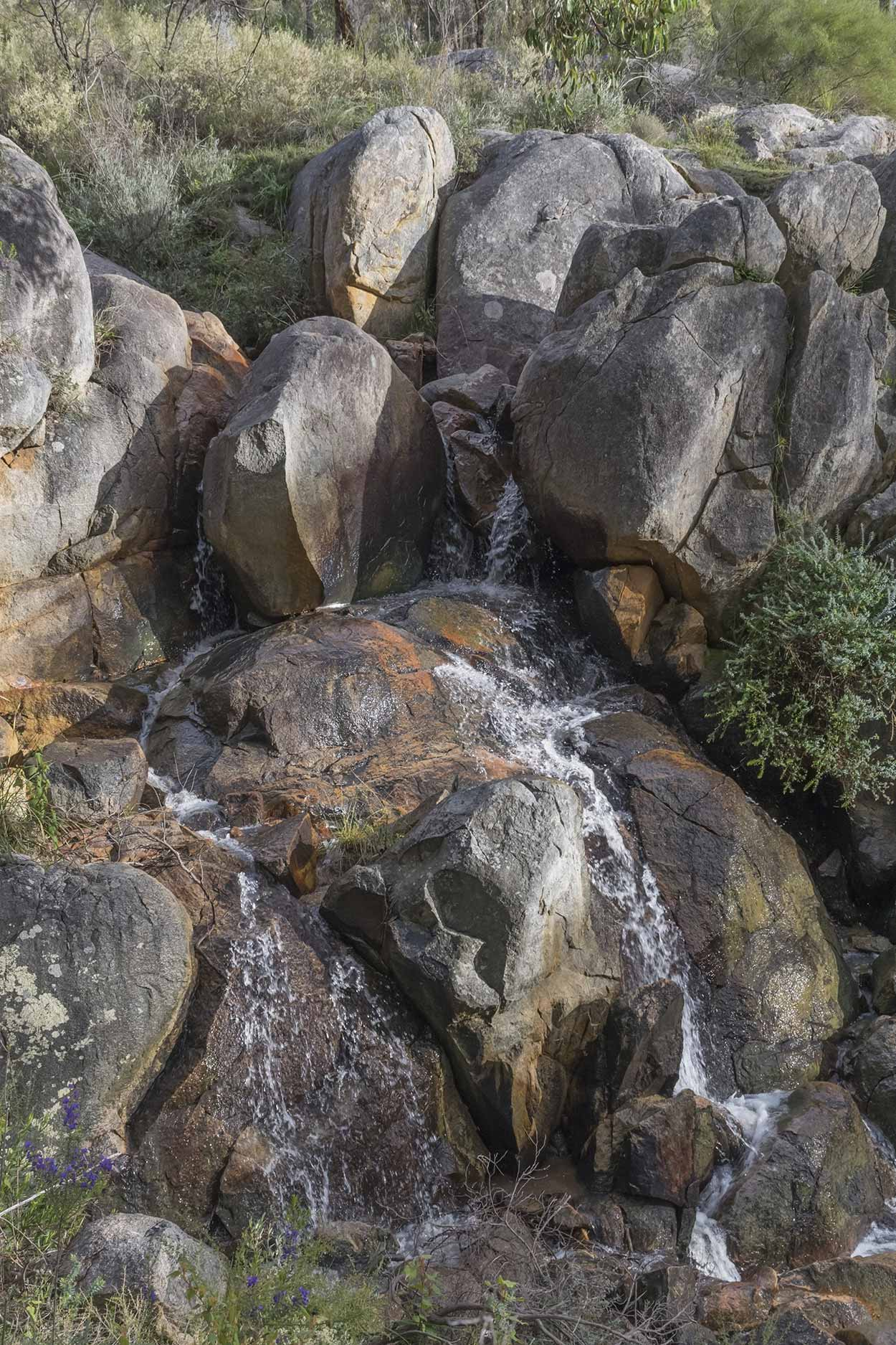 Waterfall on the Bibbulmun Track, Kalamunda National Park, Perth, Western Australia