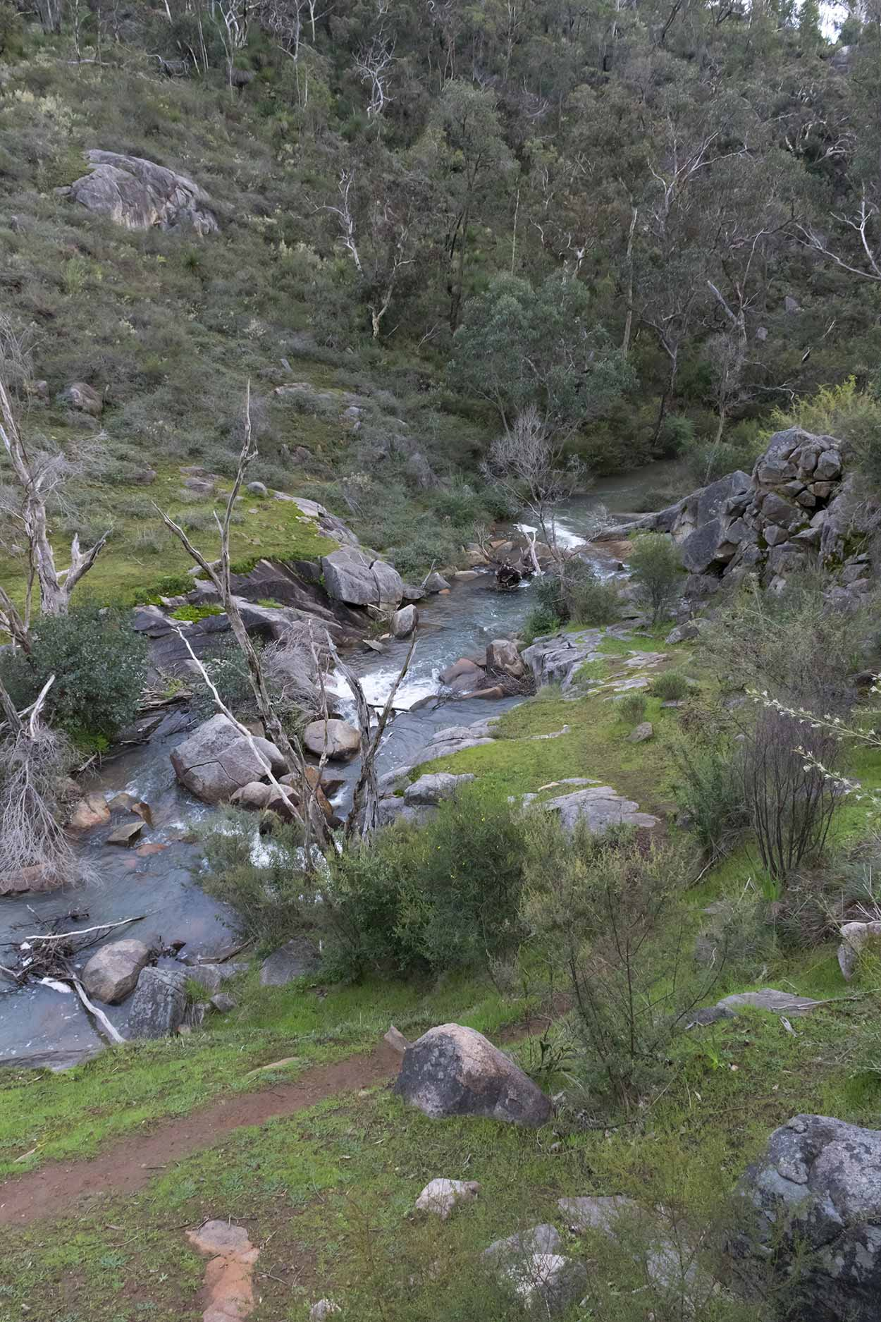 Rocky Pool, Kalamunda National Park, Perth, Western Australia