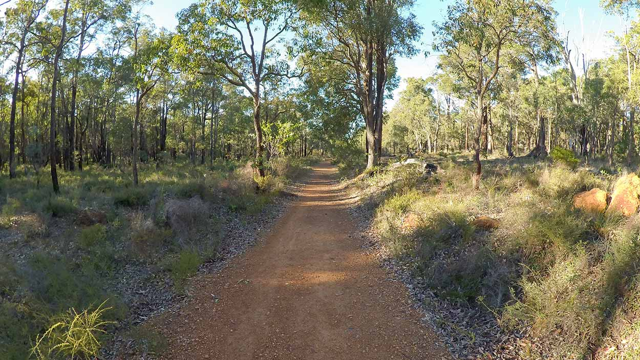Hiking the Kattamordo Heritage Trail, Mundaring, Perth, Western Australia