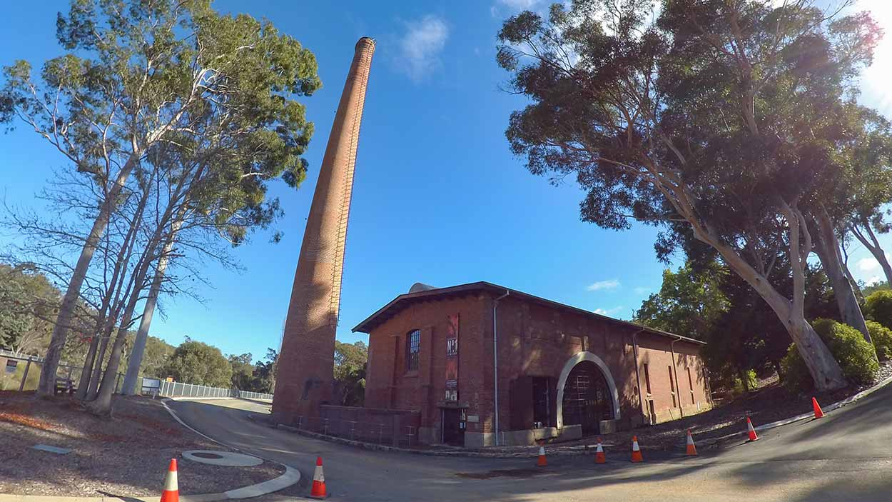 Number 1 Pump Station, Mundaring Weir, Perth, Western Australia