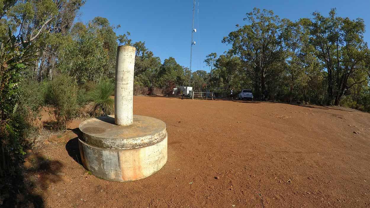 Summit of Mount Gunjin, Perth, Western Australia