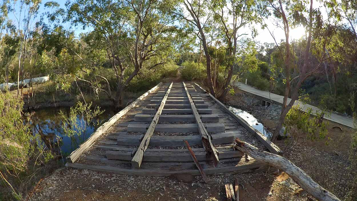 Timber Tramway Bridge, Korung National Park, Perth, Western Australia