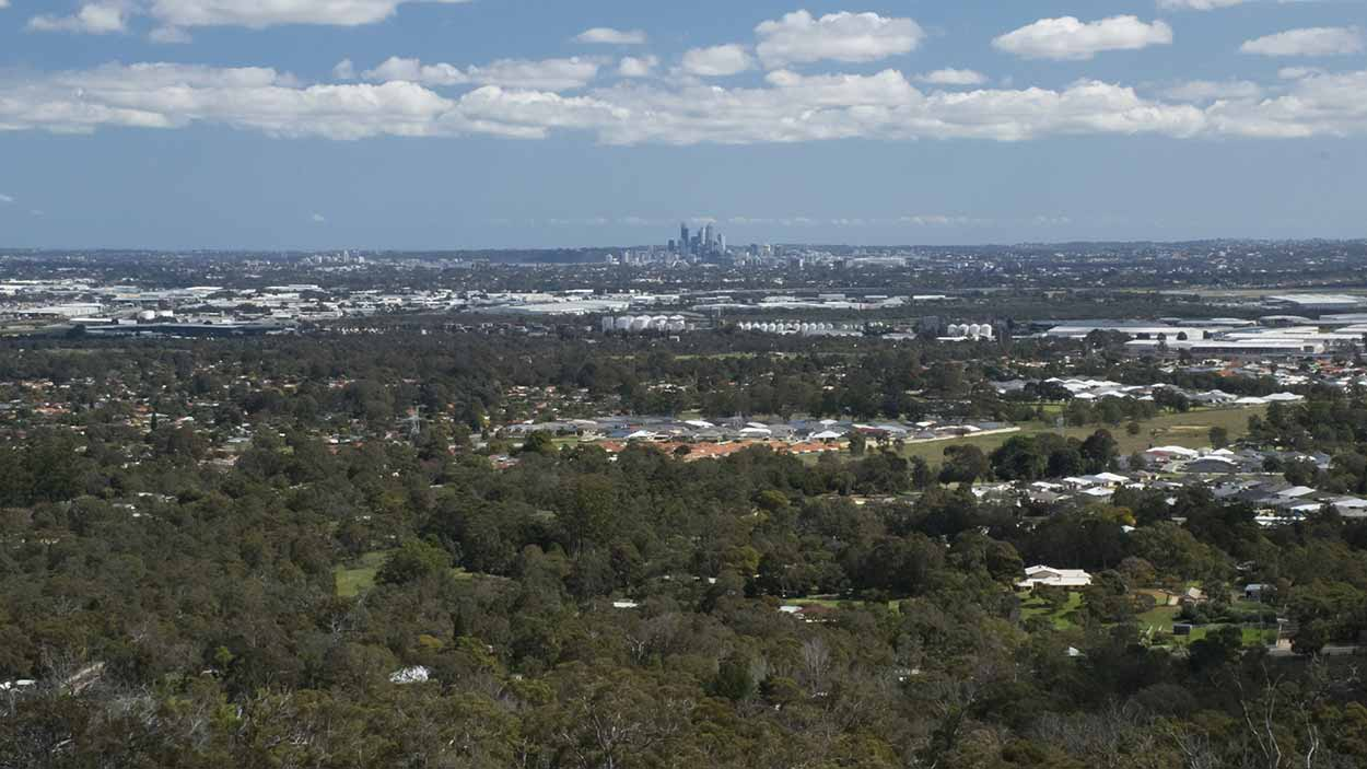 Views from Ozone Terrace, Mundy Regional Park, Perth, Western Australia