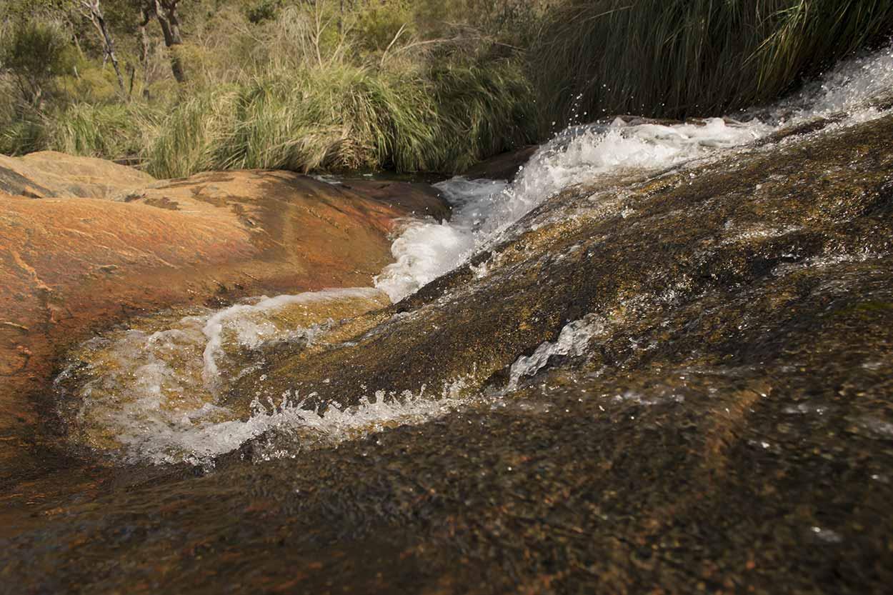 Rapids on the way to Lesmurdie Falls, Mundy Regional Park, Perth, Western Australia