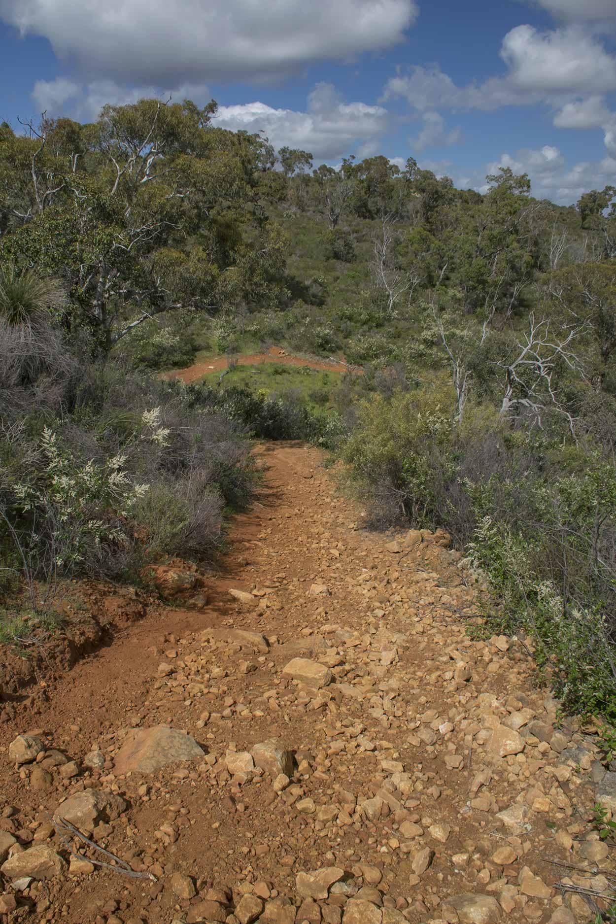A hike along the Palm Terrace Walk, Mundy Regional Park, Perth, Western Australia
