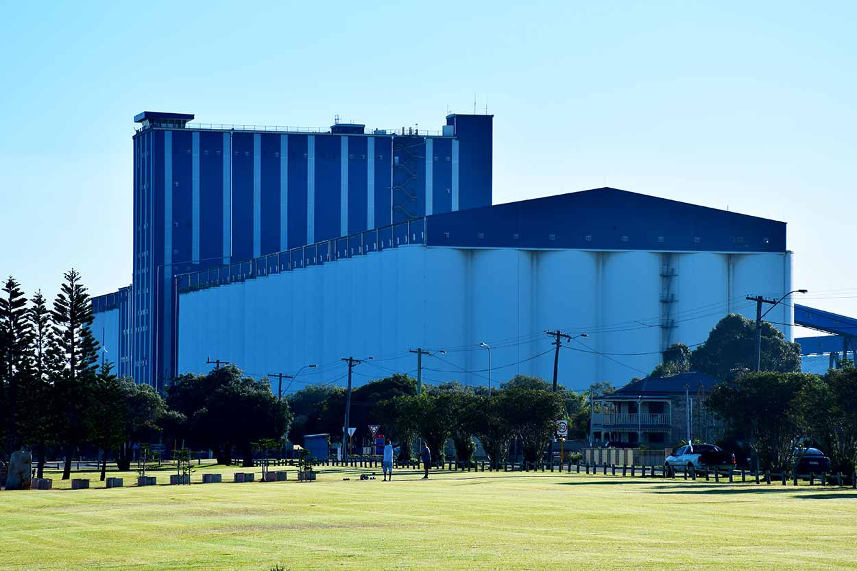 The Rockingham Grain Terminal, Perth, Western Australia