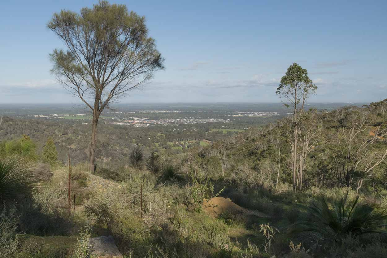 Views from Wungong Regional Park, Perth, Western Australia