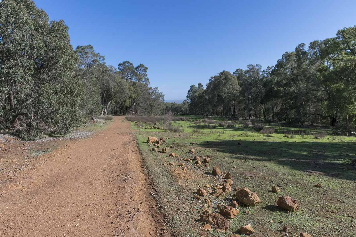 Abandoned airfield in Churchman's, Wungong Regional Park, Perth, Western Australia