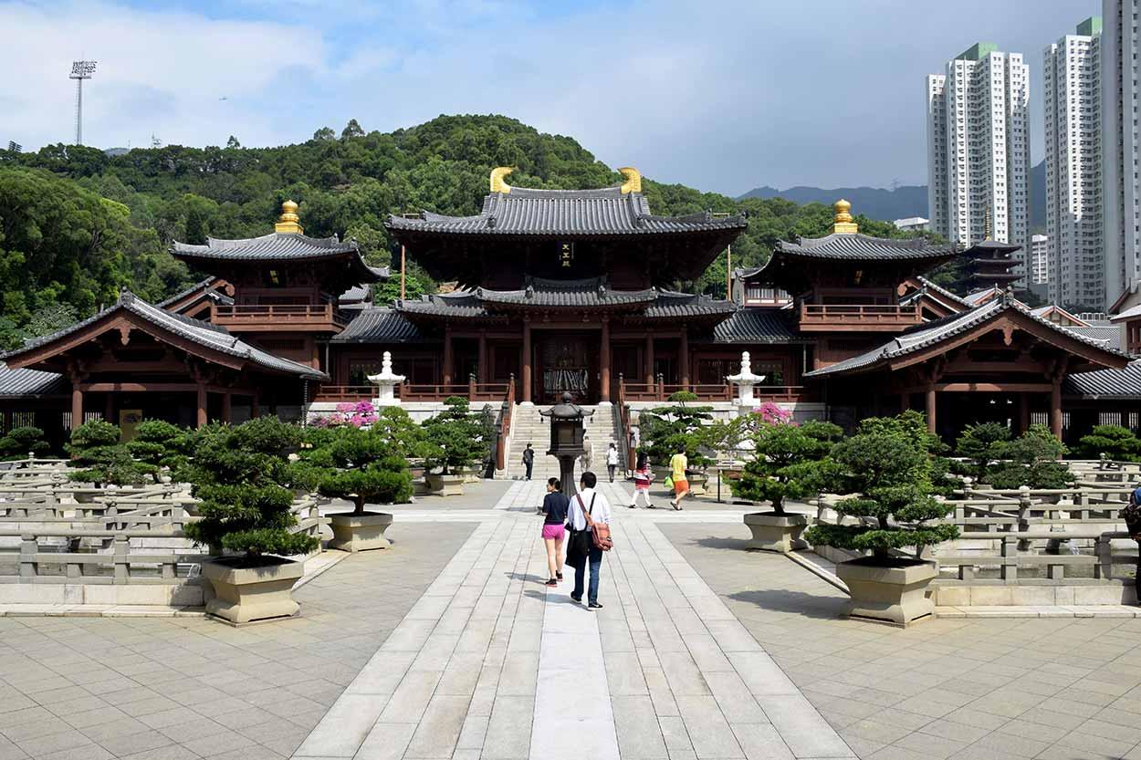Lotus Pond Garden, Chi Lin Nunnery, Hong Kong, China