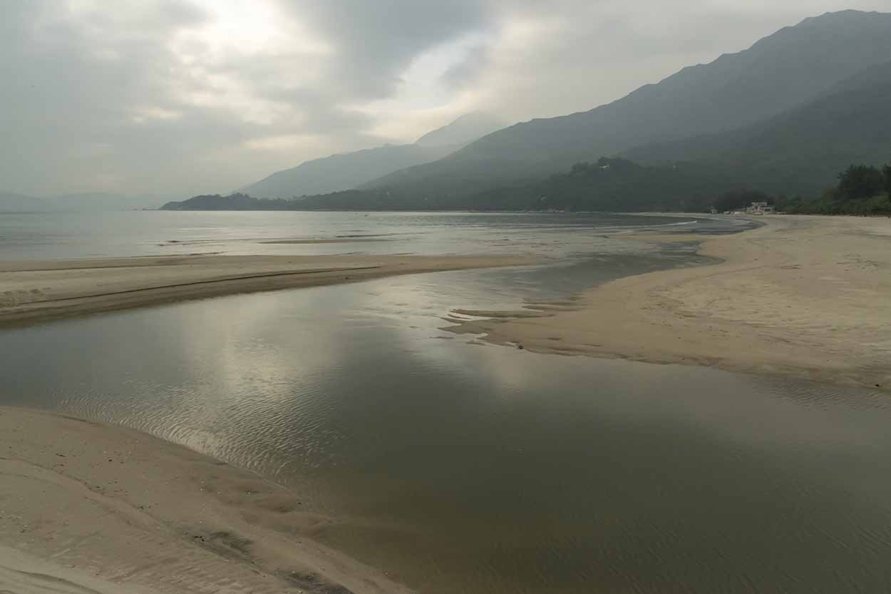 Pui O Beach, Lantau Island, Hong Kong, China