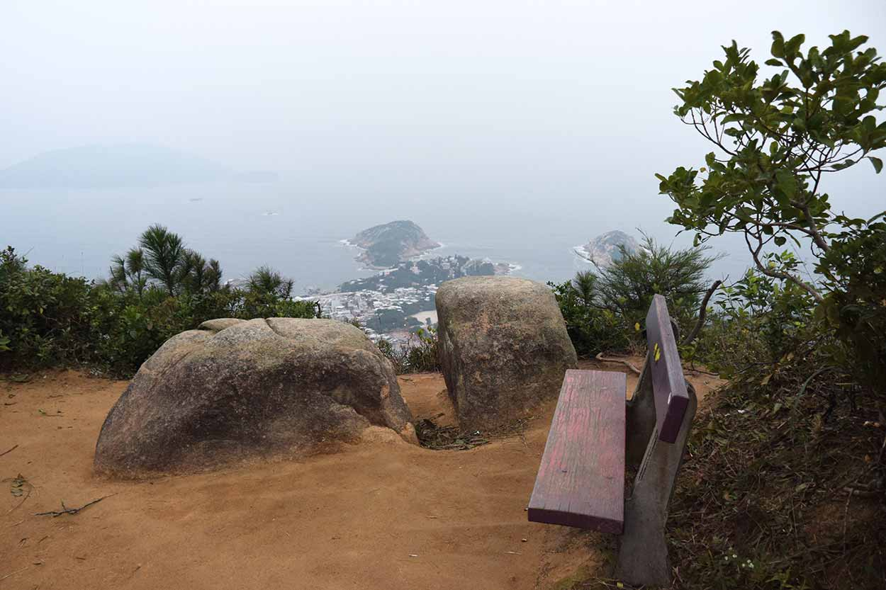 Amazing views, Dragon's Back, Hong Kong Trail Section 8, China