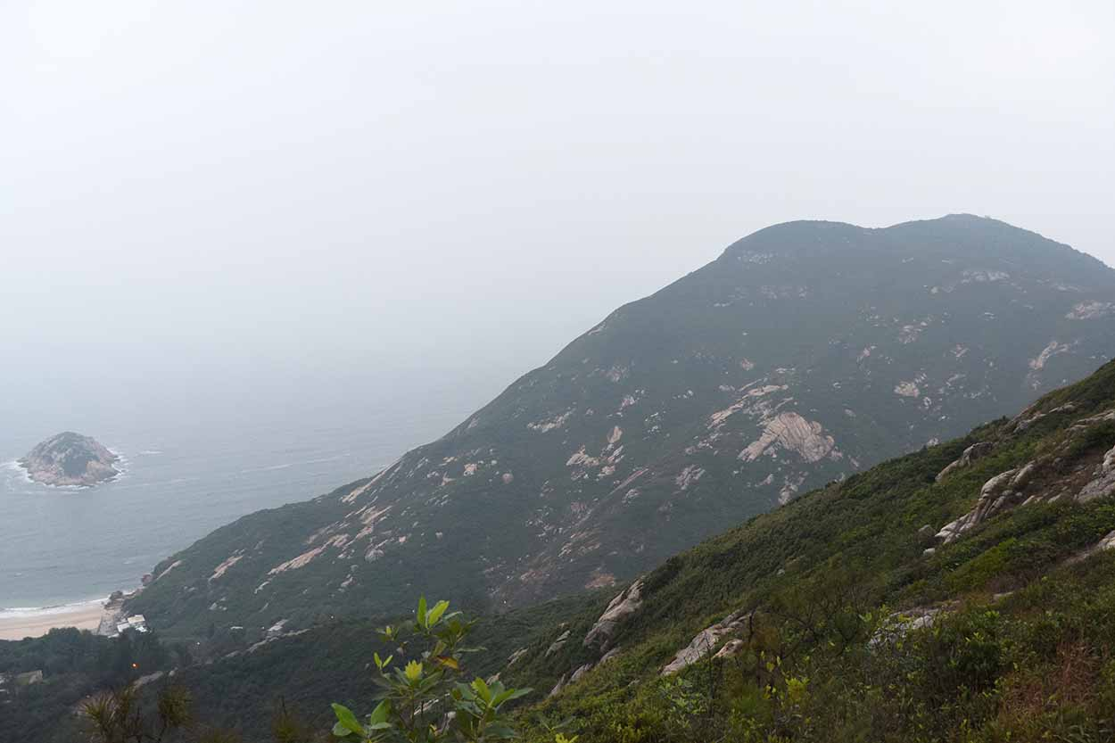 Coastal views, Dragon's Back, Hong Kong Trail Section 8, China