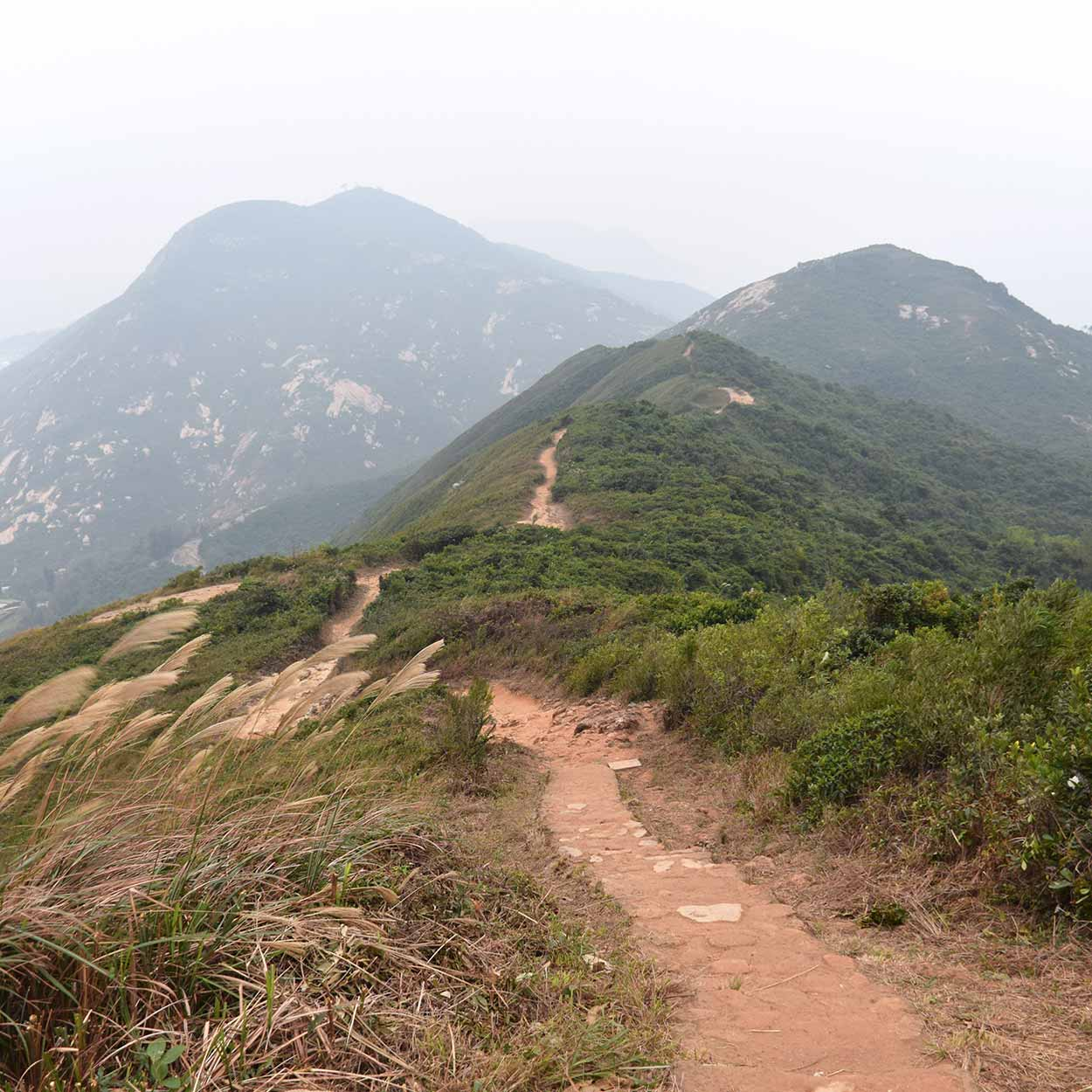 Spectacular views, Dragon's Back, Hong Kong Trail Section 8, China