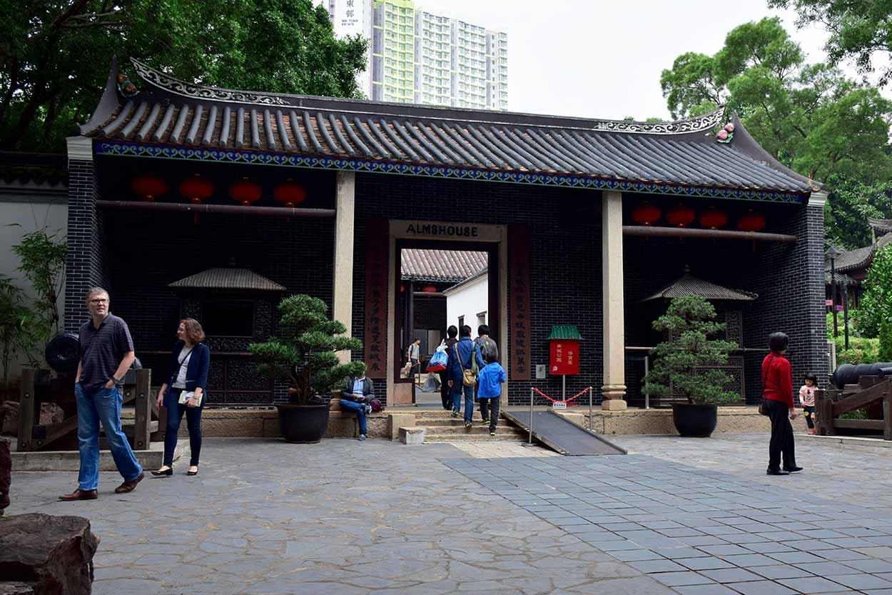 The Yamen, Kowloon Walled City Park, Hong Kong, China