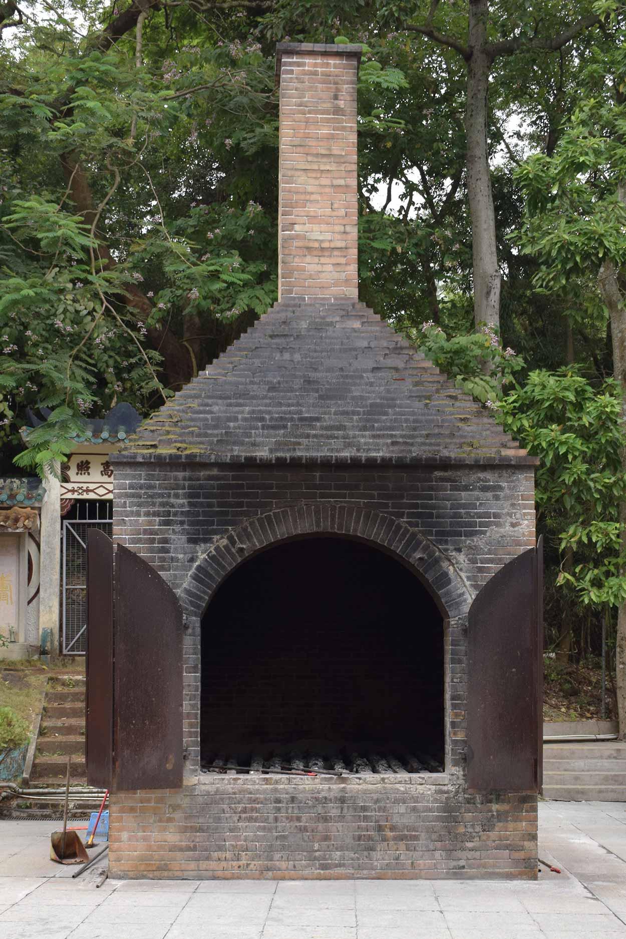 Crematorium, Fung Ying Seen Koon, Fanlingl, Hong Kong, China