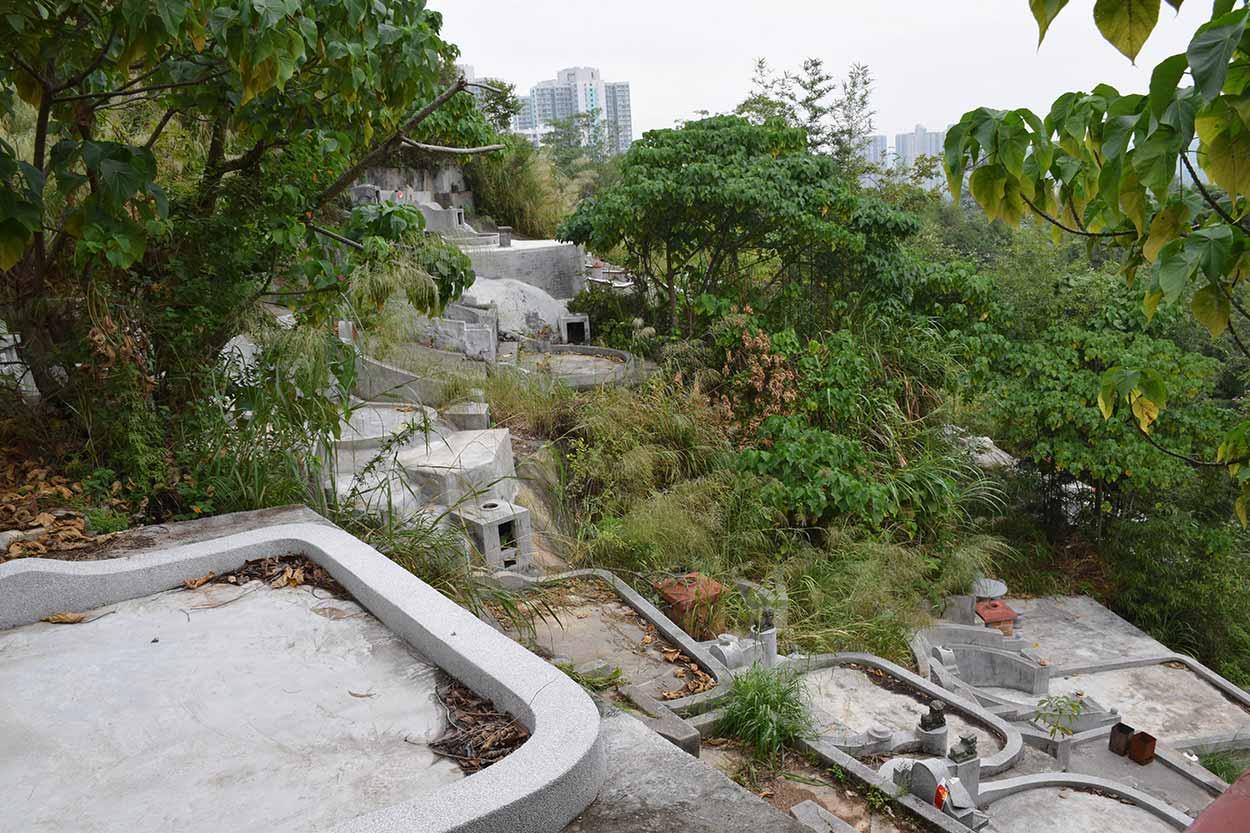 Graveyard, Fung Ying Seen Koon, Fanling, Hong Kong, China