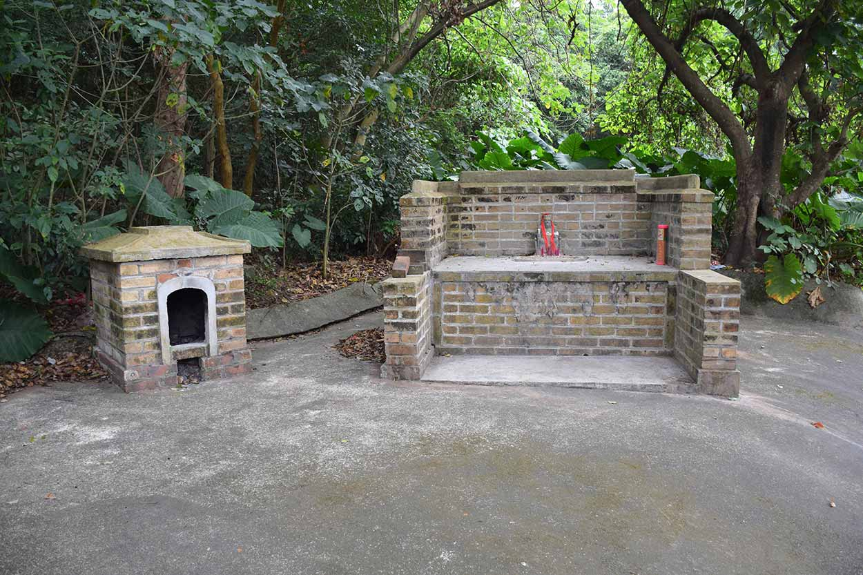 Shrine of the Earth God, Lung Yeuk Tau Heritage Trail, Hong Kong, China