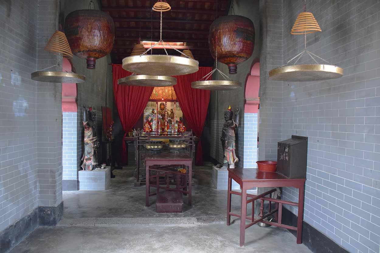 Inside Tin Hau Temple, Lung Yeuk Tau Heritage Trail, Hong Kong, China