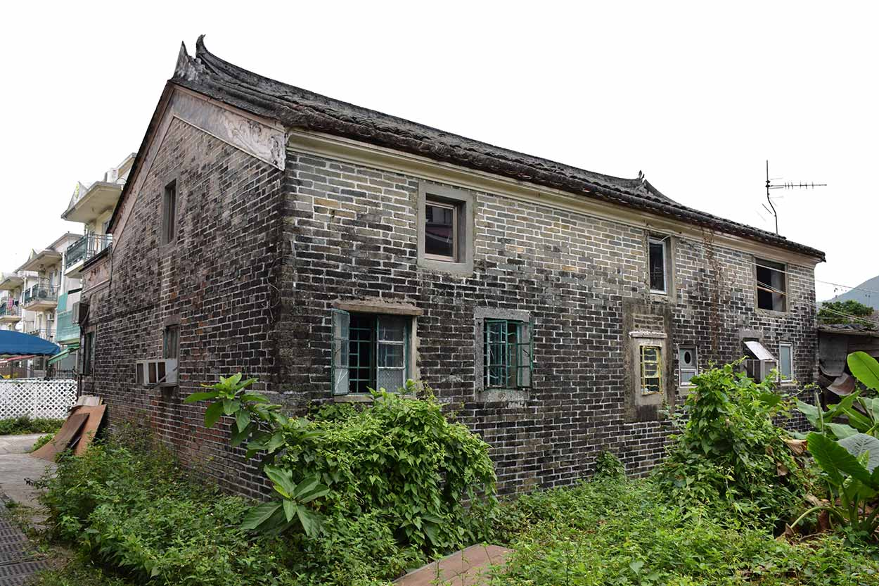 An old building, Lung Yeuk Tau Heritage Trail, Hong Kong, China