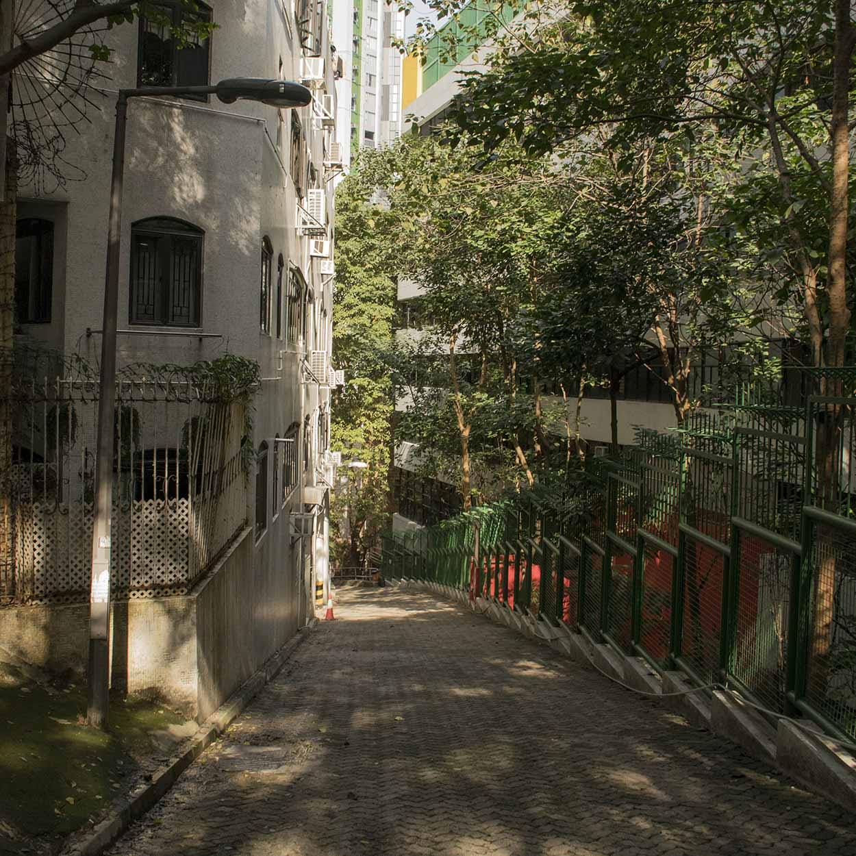 Wan Chai Green Trail, Hong Kong, China