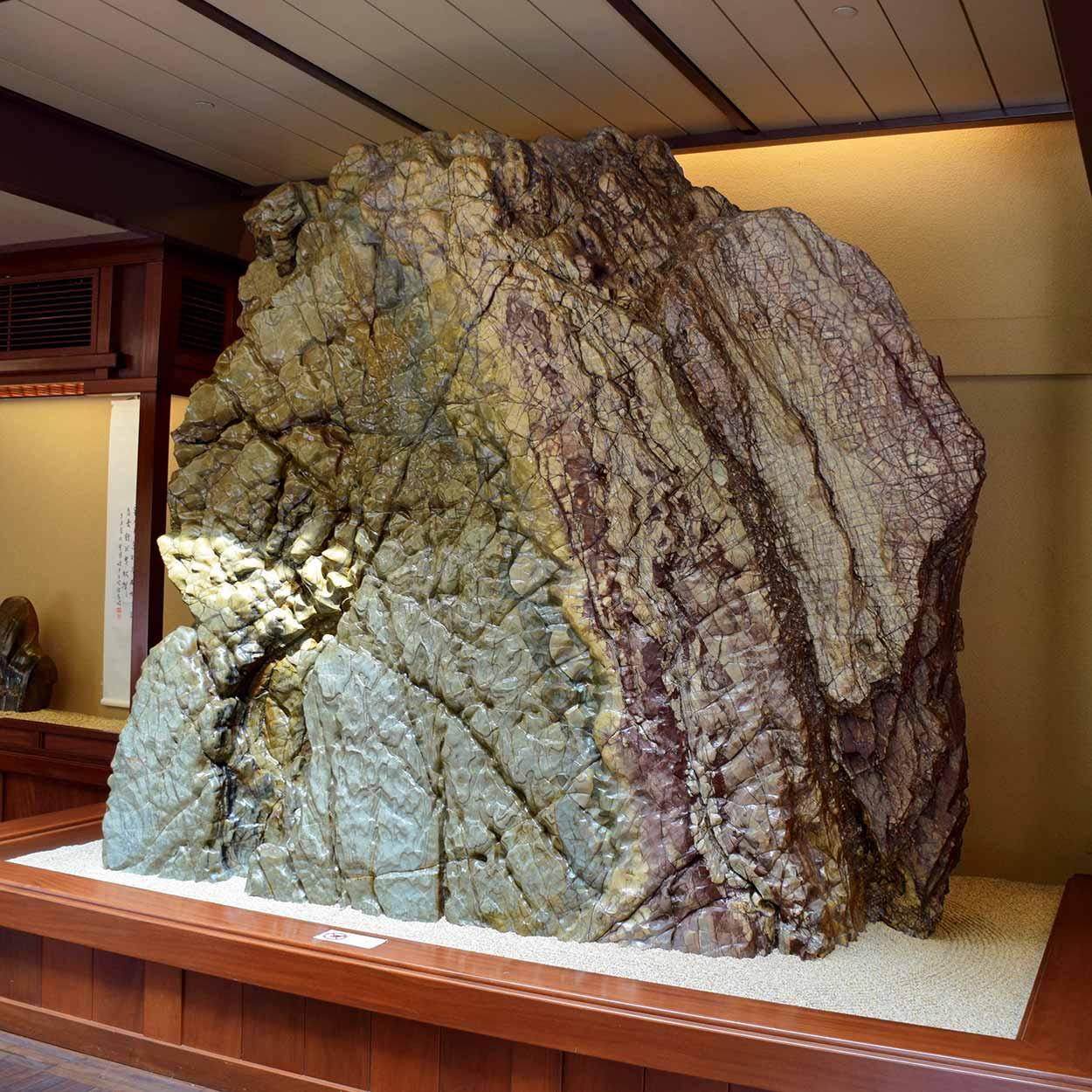 Huge rock in the rockery, Nan Lian Garden, Hong Kong, China