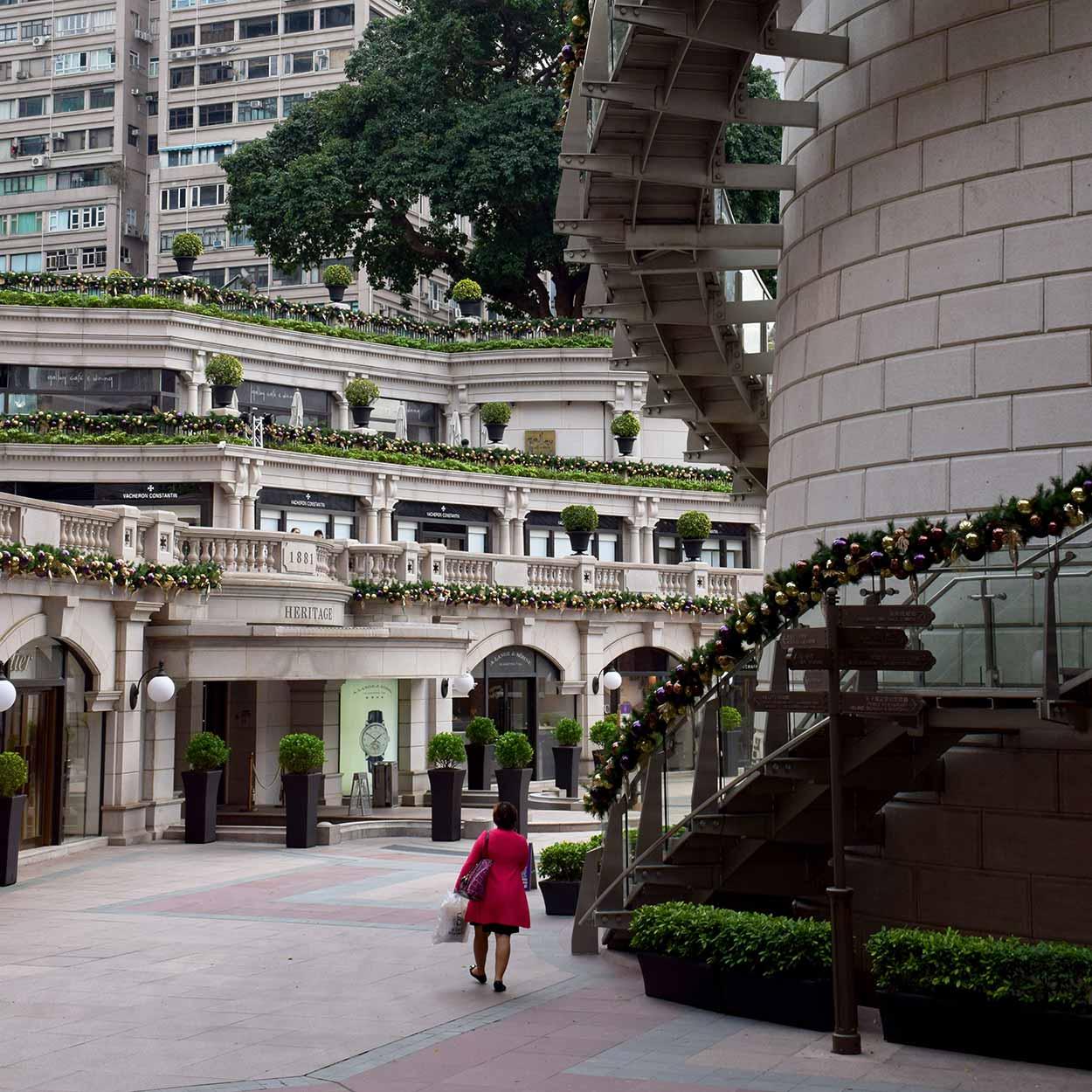 1881 Heritage, formally the headquarters of the Hong Kong Marine Police, Tsim Sha Tsui, Hong Kong, China