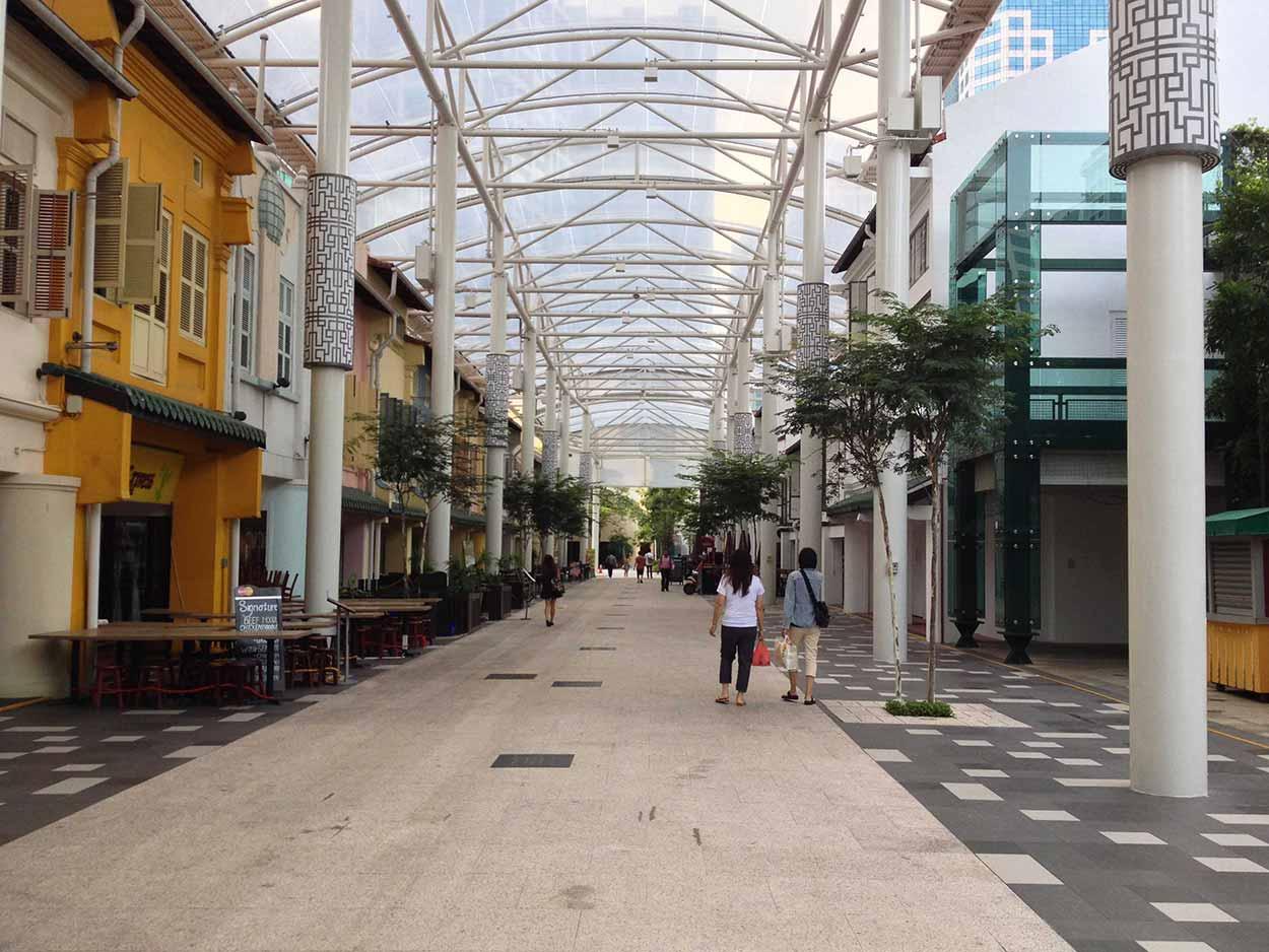 Nankin Street, Chinatown, Singapore