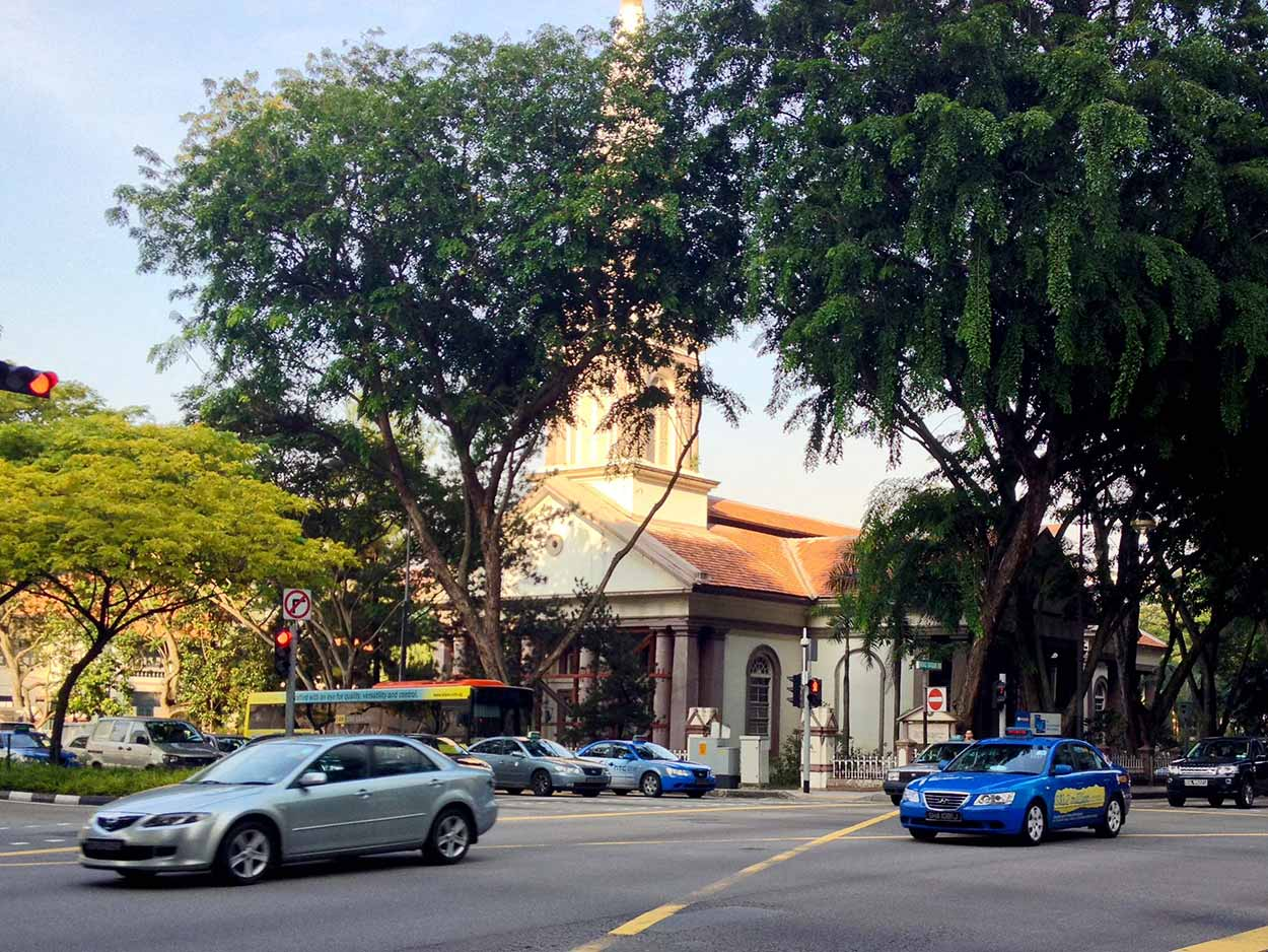 Cathedral of the Good Shepherd, Colonial District, Singapore