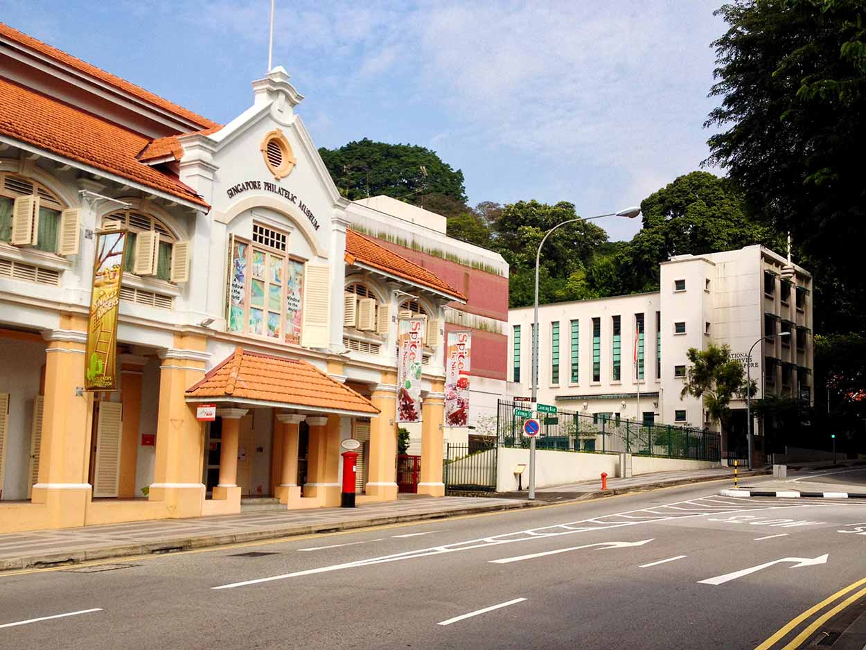 The Singapore Philatelic Museum on Canning Rise, Colonial District, Singapore