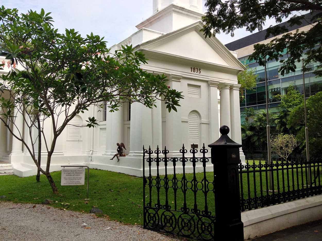 Armenian Apostolic Church of St. Gregory the Illuminator on Hill Street, Colonial District, Singapore