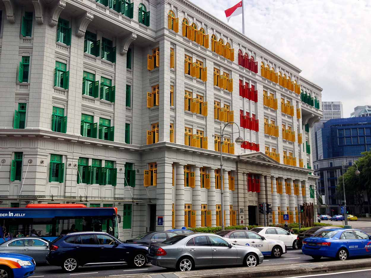 Old Hill Street Police Station, Colonial District, Singapore