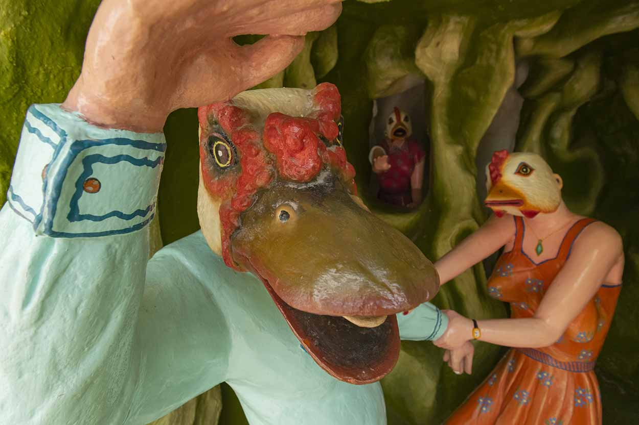 Chicken Den, Haw Par Villa, Singapore