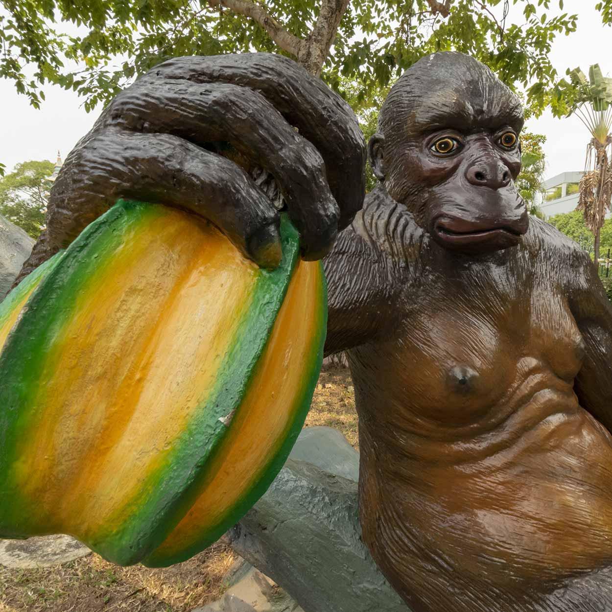 Gorilla, Haw Par Villa, Singapore