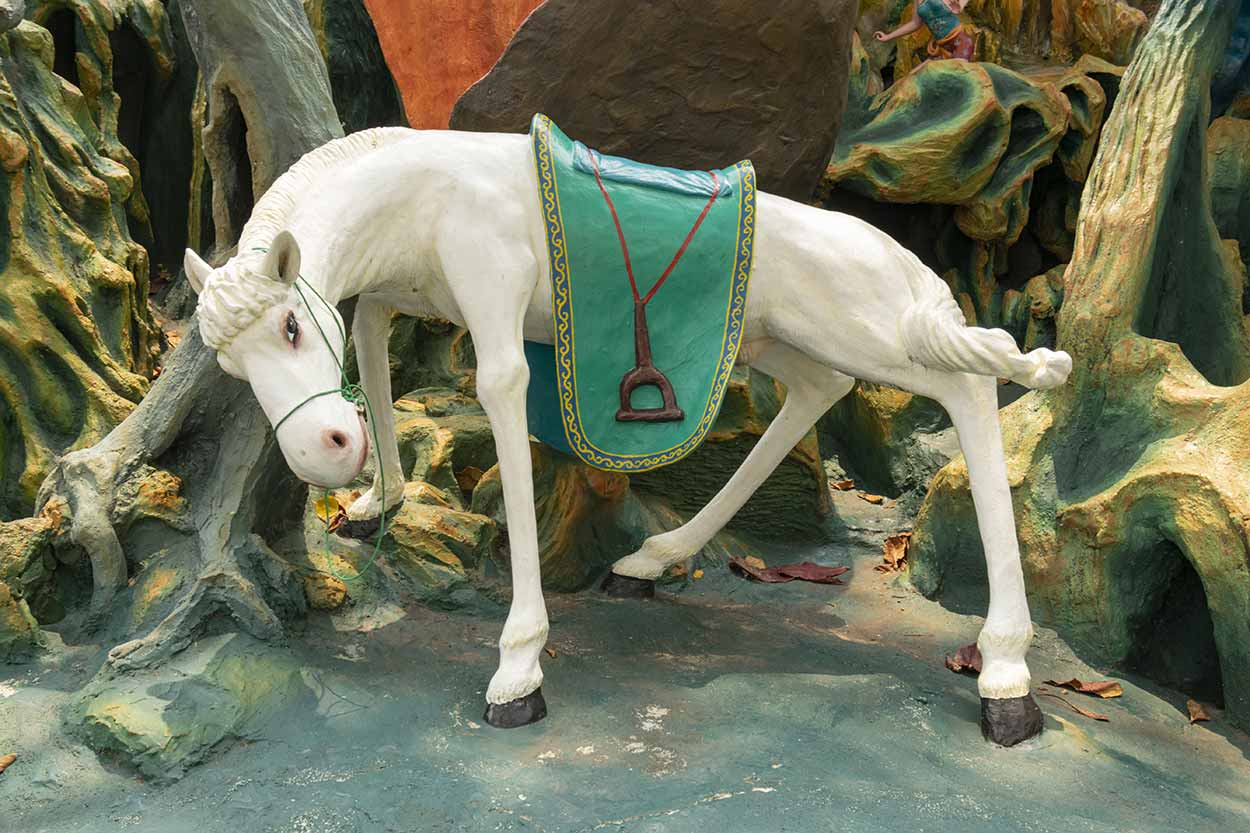 Journey to the West, Haw Par Villa, Singapore