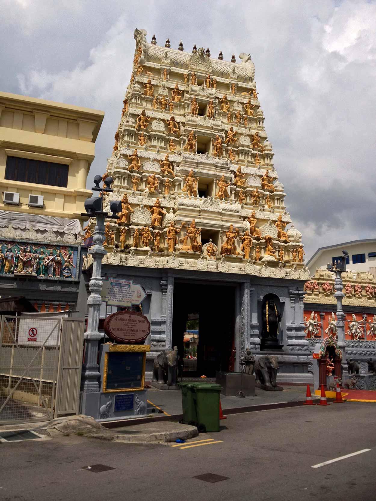 Sri Senpaga Vinayagar Temple on Ceylon Road, Joo Chiat, Singapore