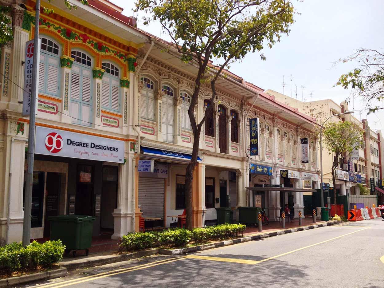 Shophouses on Joo Chiat Road, Singapore