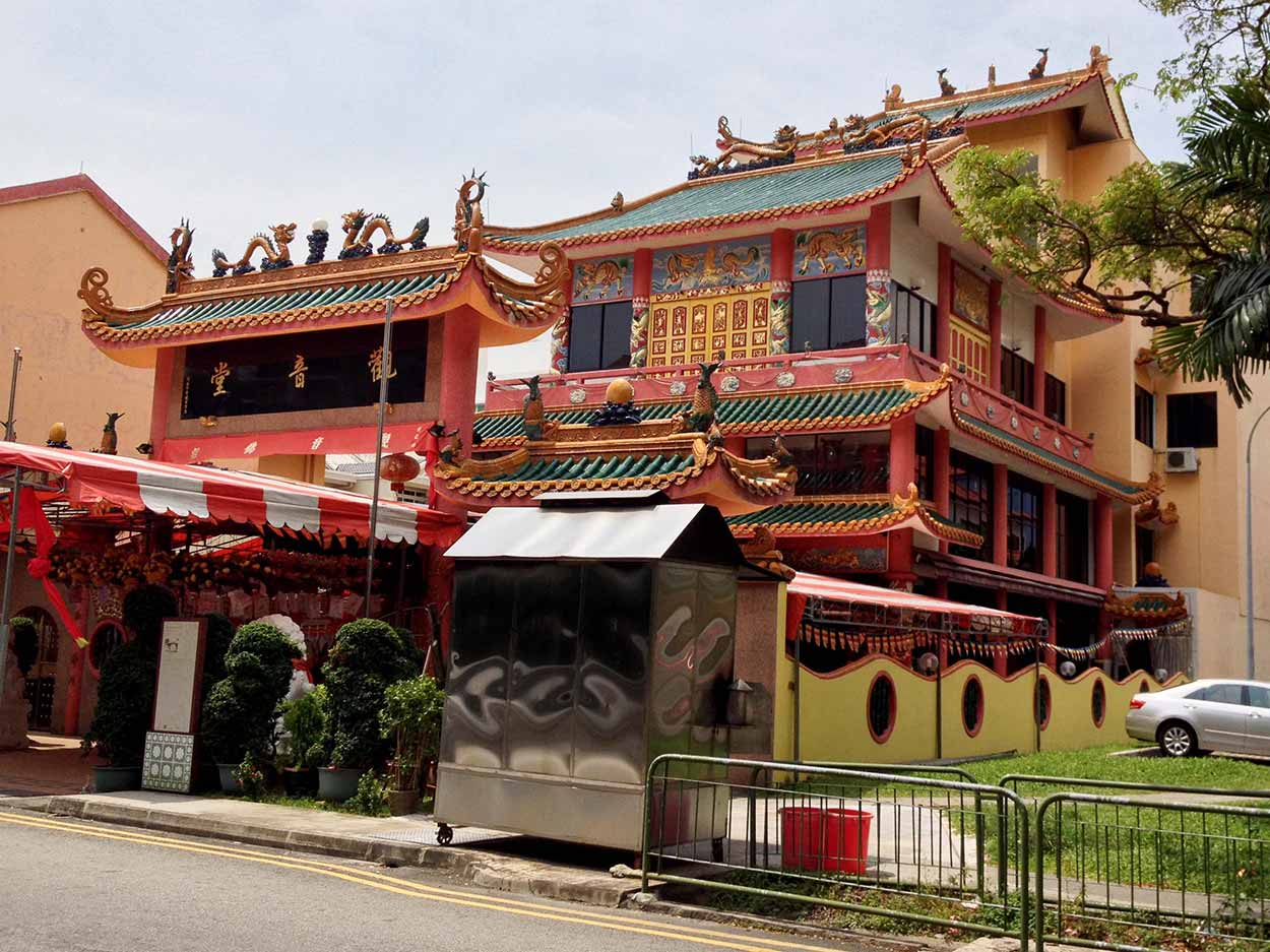 Kuan Im Tng Temple on Tembeling Road, Joo Chiat, Singapore