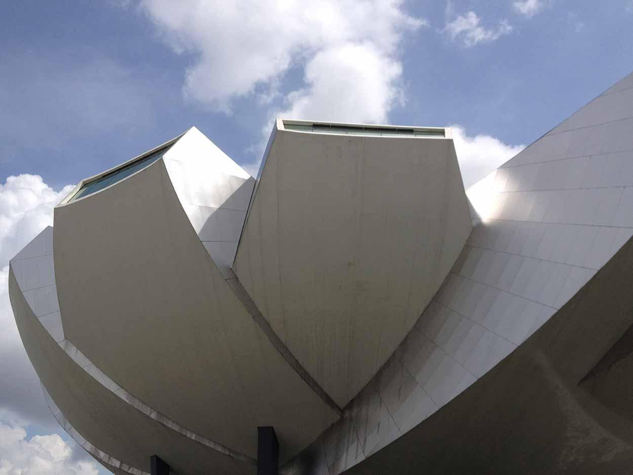 The ArtScience Museum, Marina Bay, Singapore