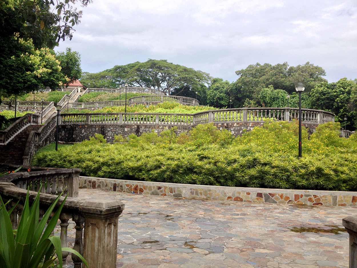 Terrace Garden in Telok Blangah Hill Park, Southern Ridges Walk, Singapore